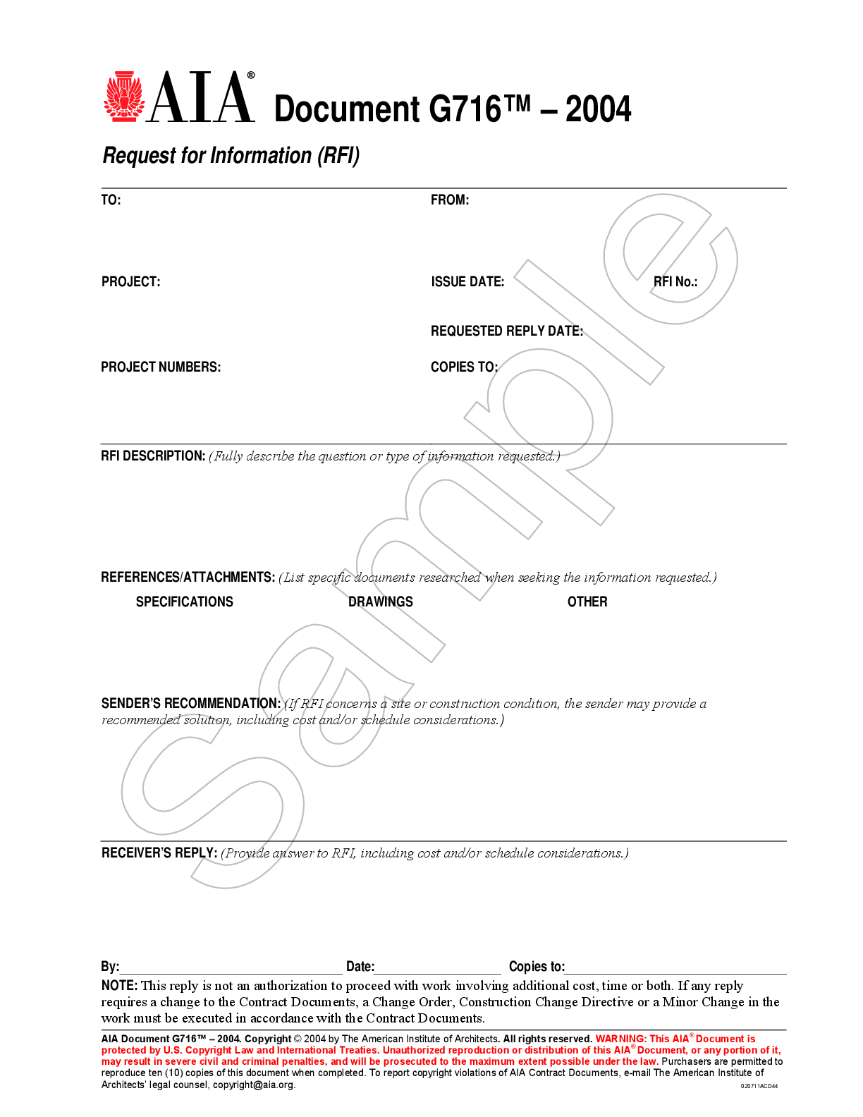 Aia Document Download