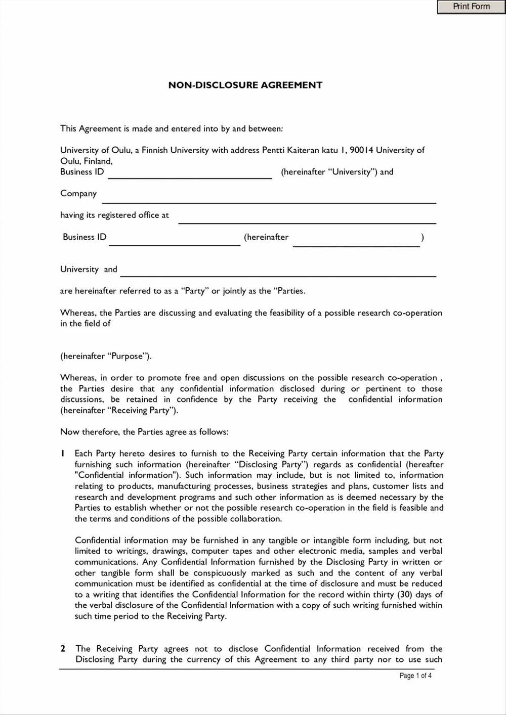Aia Form A101 Free
