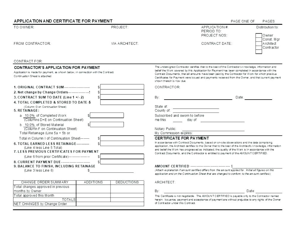 Aia G706 Form Sample