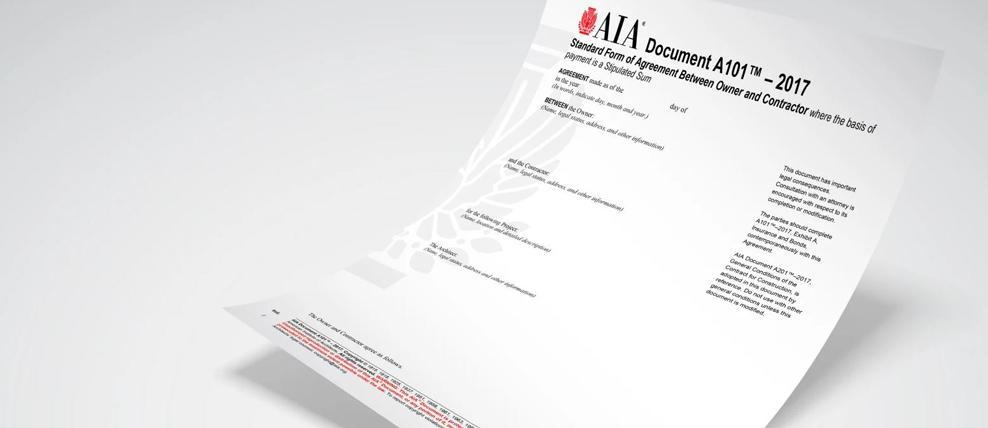 Aia Owner Contractor Forms