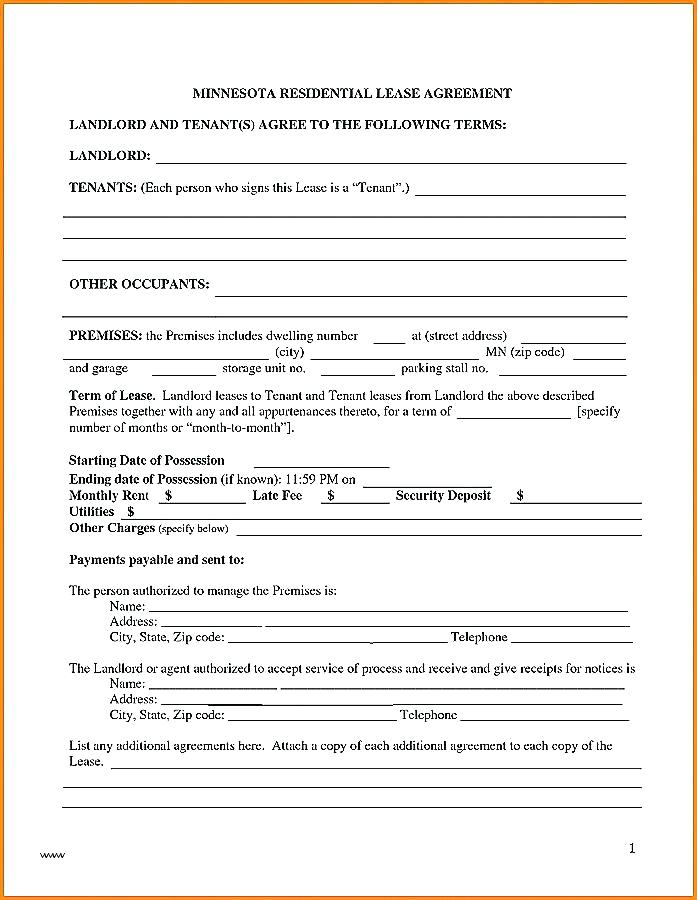 Alberta Residential Rental Forms