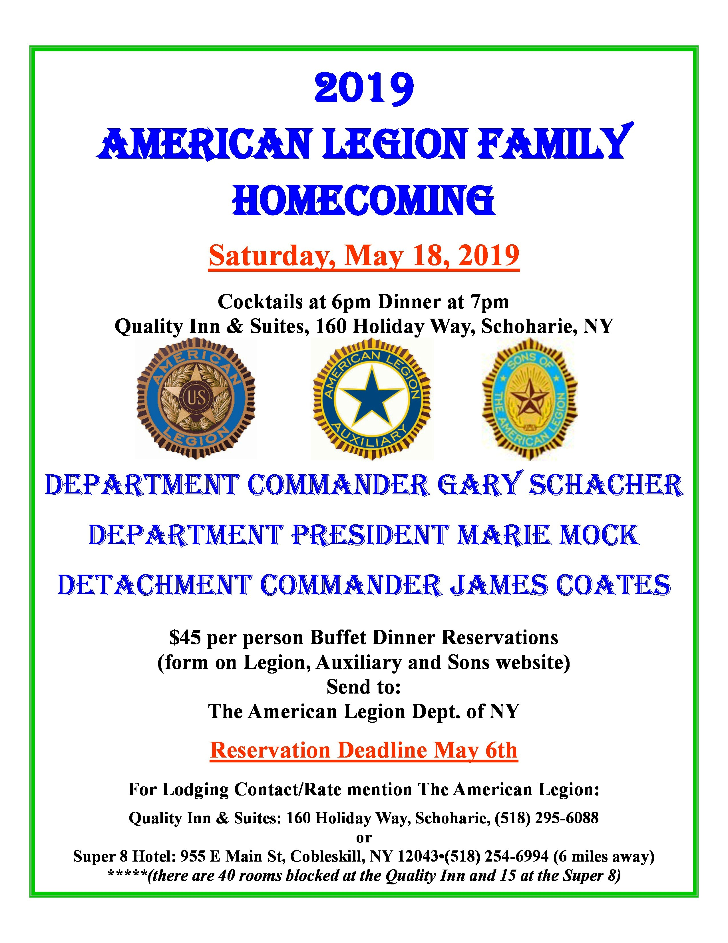 American Legion Post Finance Forms