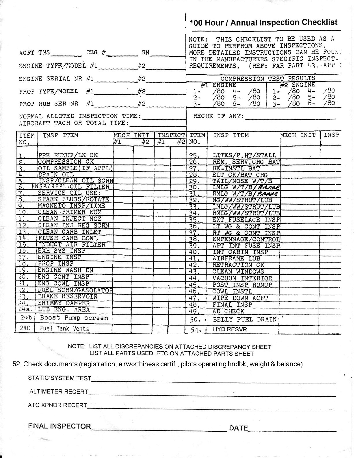 Annual Trailer Inspection Form Pdf