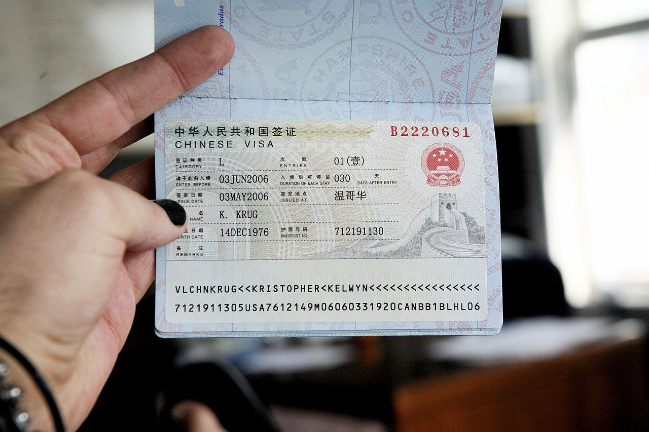 Application Form For China Z Visa