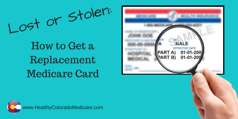 Application Form For Lost Medicare Card