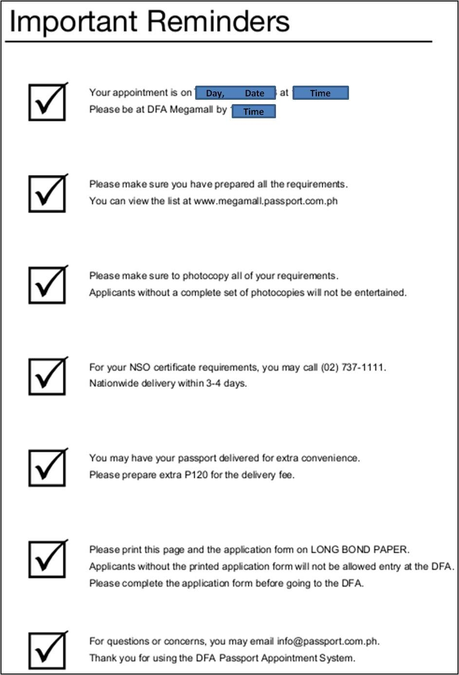 Application Form Renewal Passport Minor