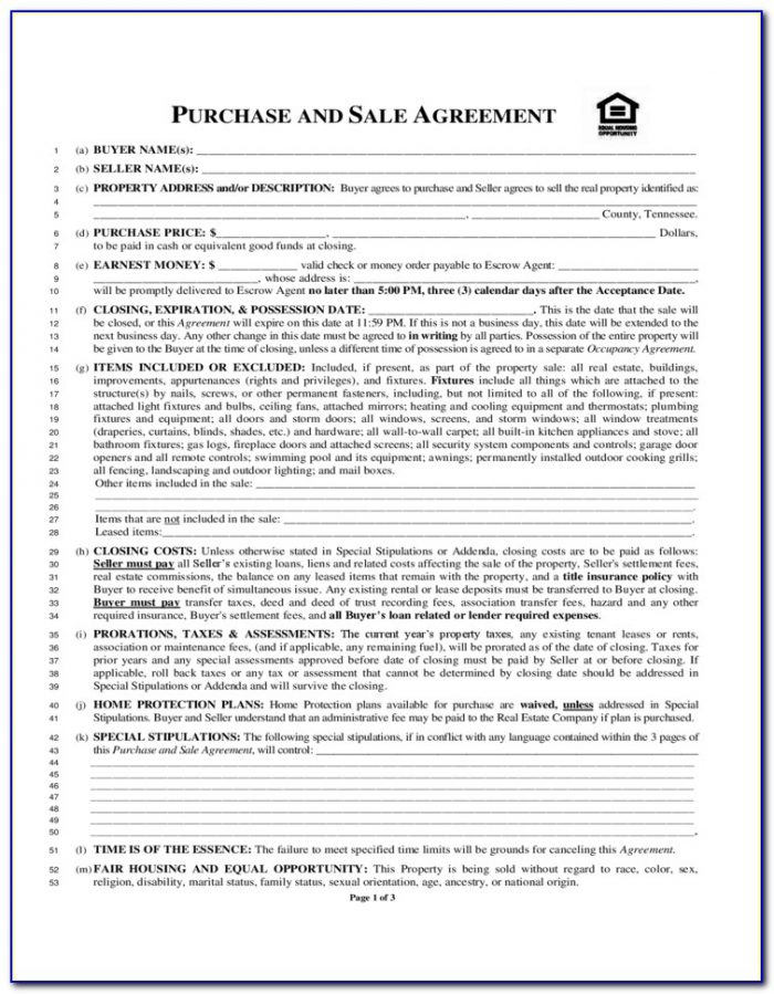 Arkansas Real Estate Contract Residential Form