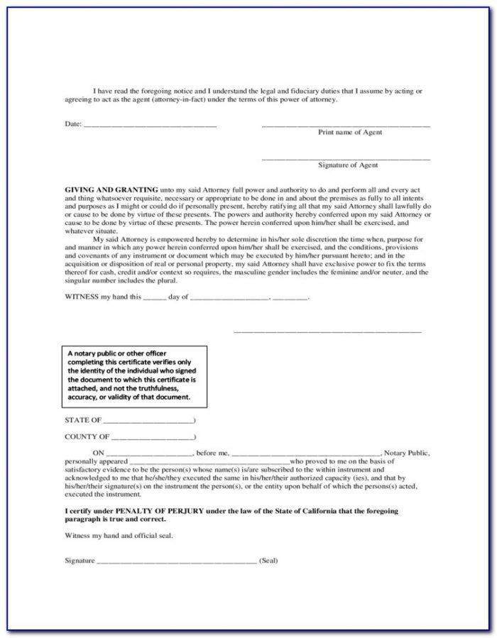 Arkansas Unemployment Power Of Attorney Form