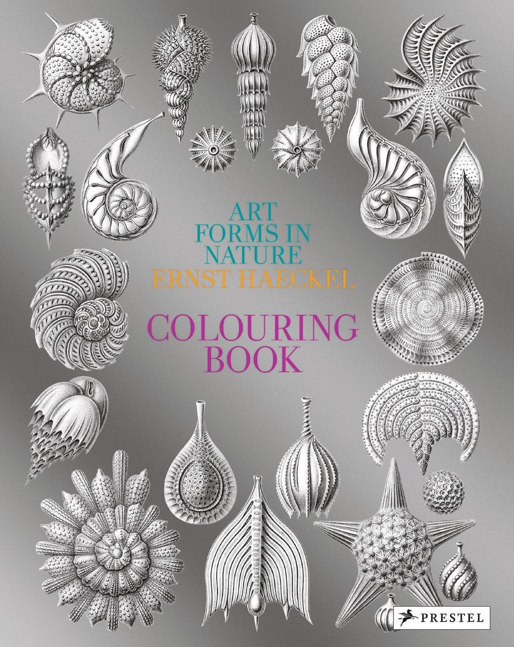 Art Forms In Nature A Colouring Book Of Ernst Haeckel's Prints