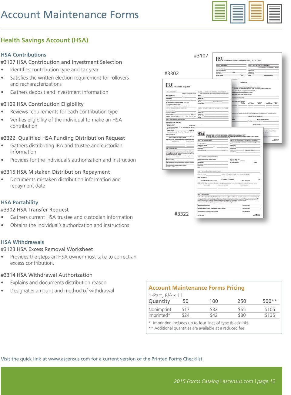 Ascensus 401k Withdrawal Form