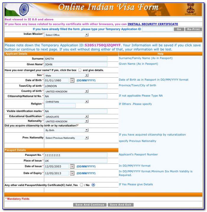 Australia Tourist Visa Online Form