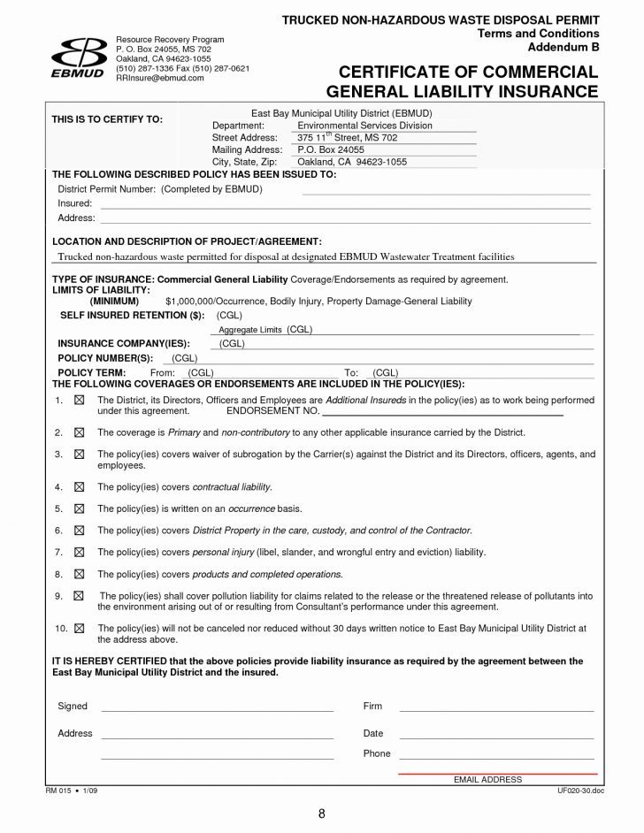 Auto Accident Release Form Sample