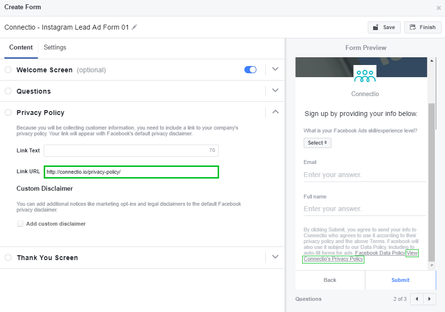 Auto Fill Forms For Ads