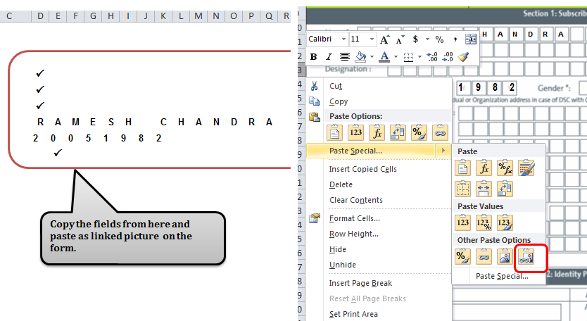 Auto Fill Forms In Excel