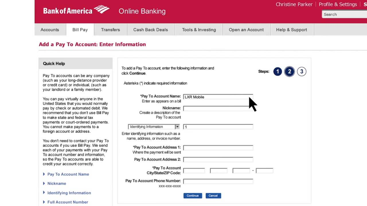 Bank Of America Auto Loan Application Form