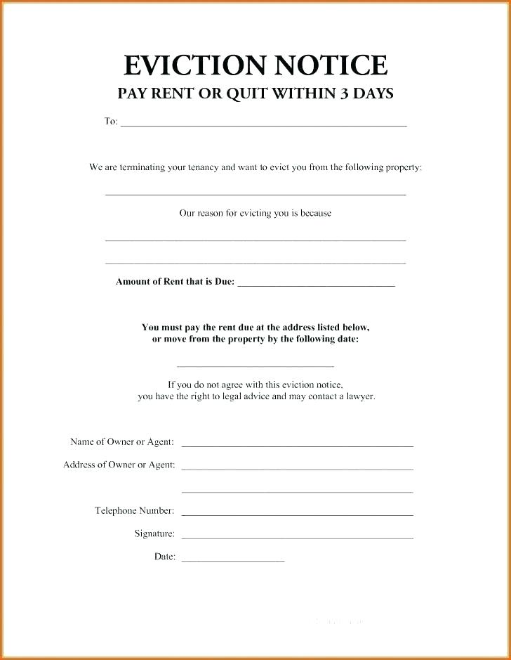 Bc Landlord Eviction Notice Form