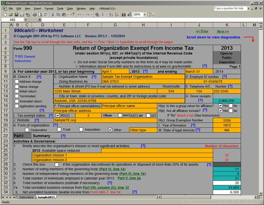 Best Form 990 Software