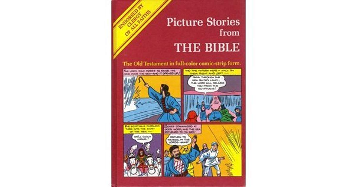 Bible Stories In Comic Book Form