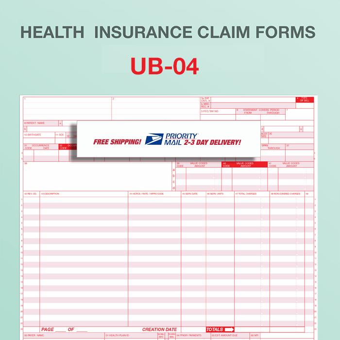 Billing Form Ub 04