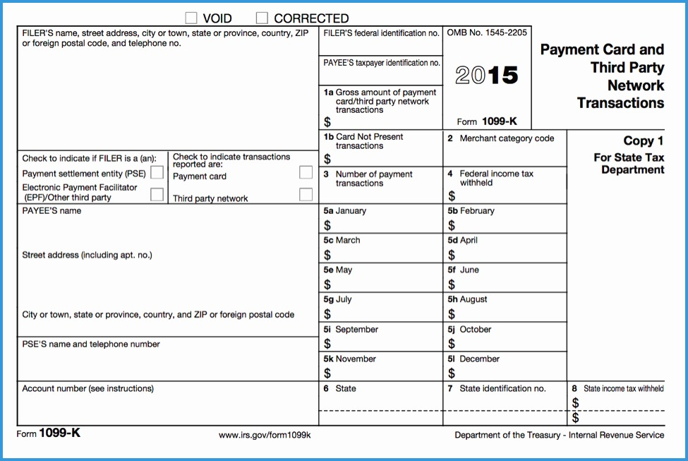 Free 2016 W2 Template Amazing Blank 1099 Form 2015 Printable