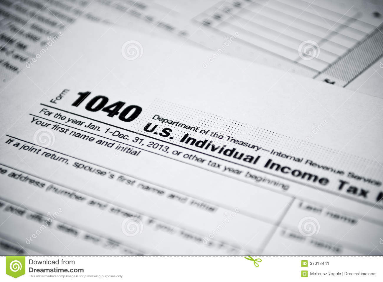 Blank Income Tax Return Form
