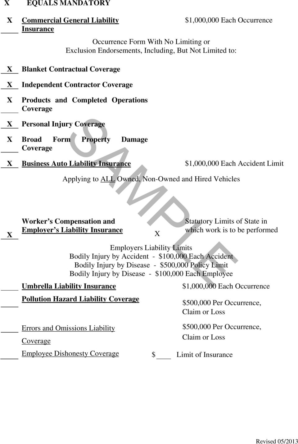 Blanket Waiver Of Subrogation Workers Compensation Form