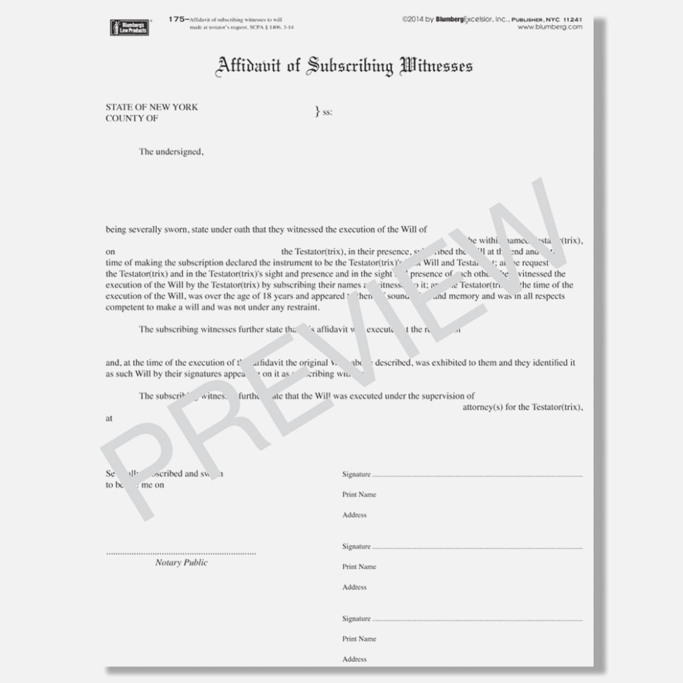 Blumberg Legal Forms