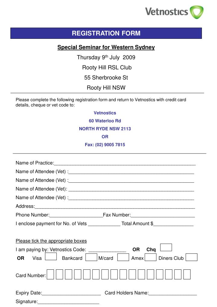 Boat Registration Form Nsw