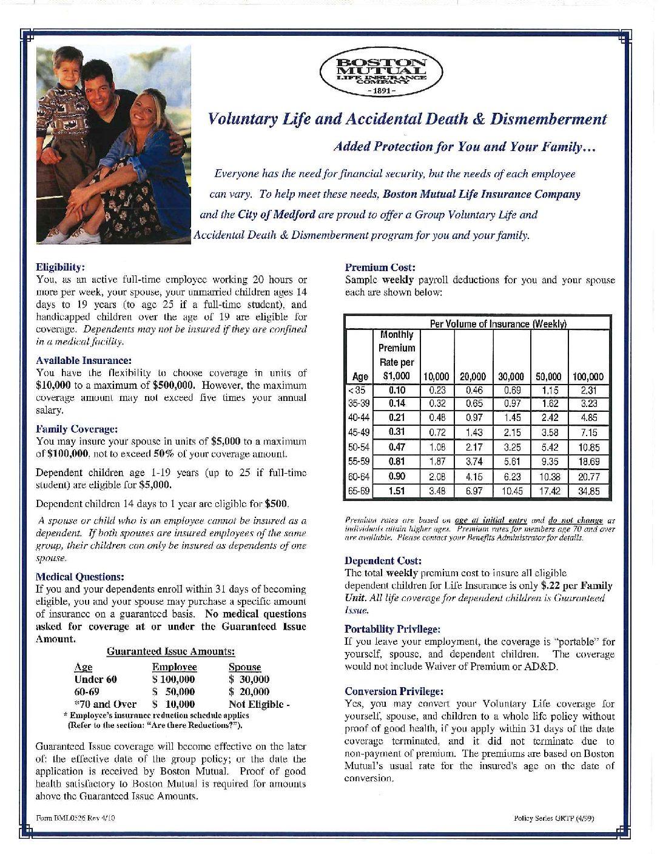 Boston Mutual Life Insurance Beneficiary Form