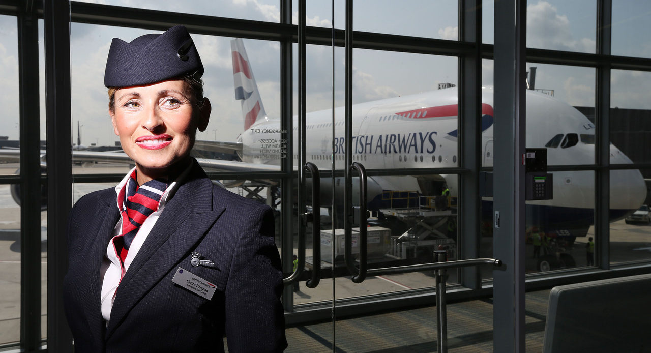 British Airways Flight Attendant Application Form