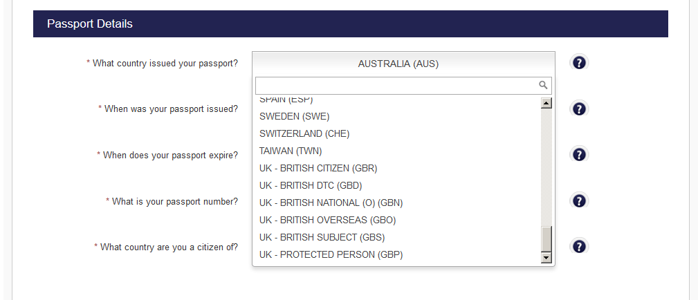 British Passport Renewal Form Overseas