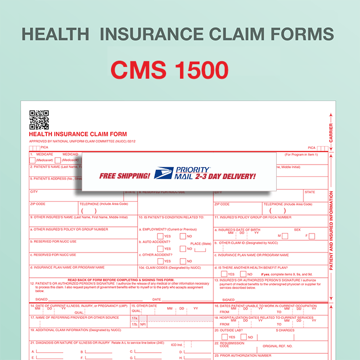 Buy Hcfa 1500 Claim Form