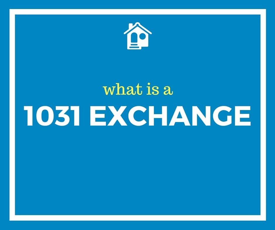 Ca 1031 Exchange Form