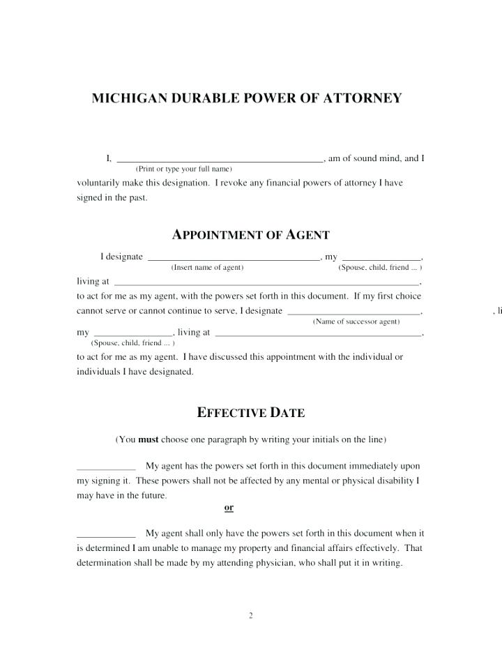 Ca Durable Power Of Attorney For Health Care Form