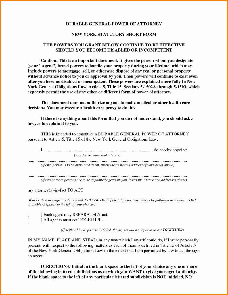 Uniform Statutory Form Power Of Attorney California 2018 Unique Durable Power Attorney Template Beautiful California Adopt 200