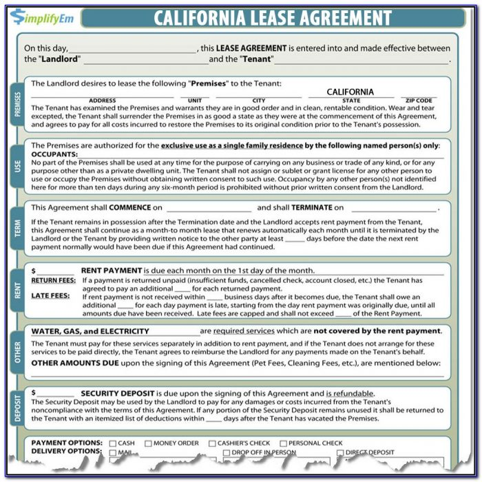 California Ez Tax Forms