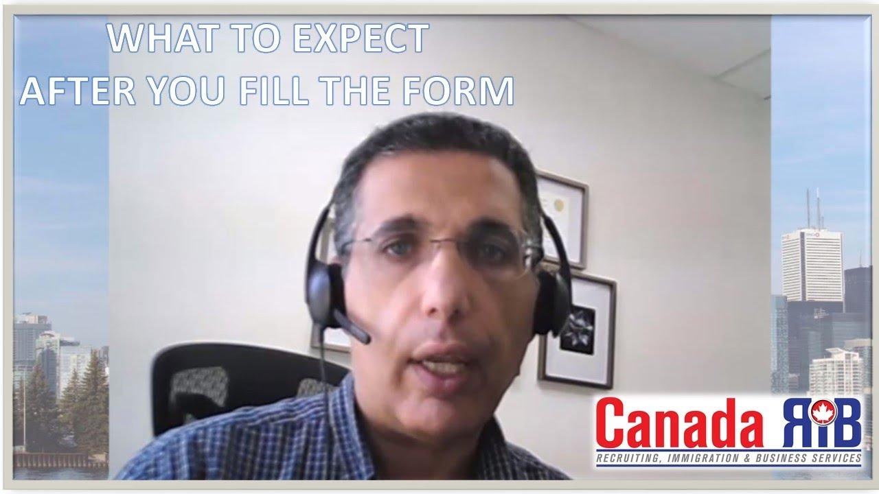Canadian Immigration Online Assessment Form