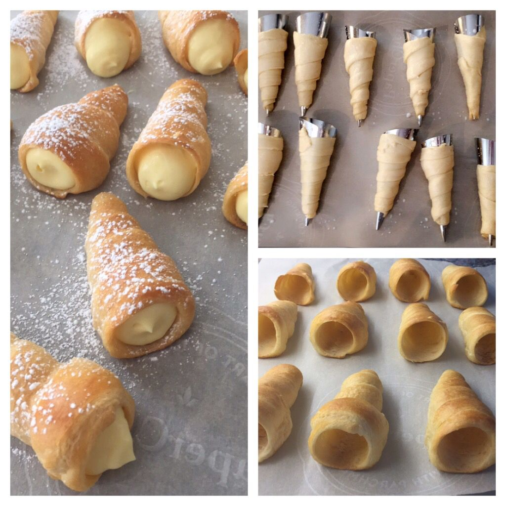 Cannoli Shells Without Forms