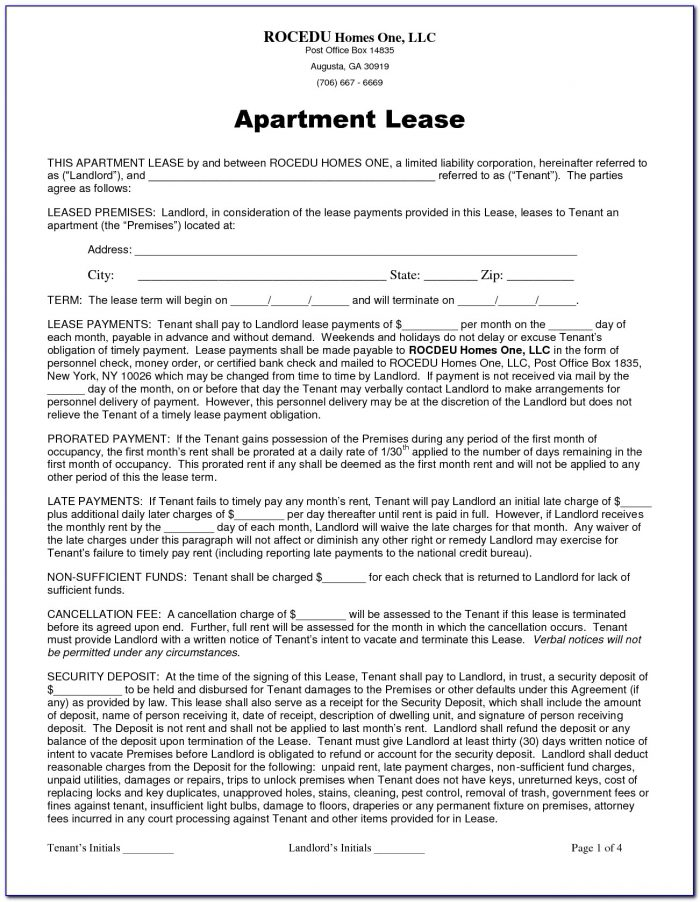 Chicago Apartment Lease Renewal Form
