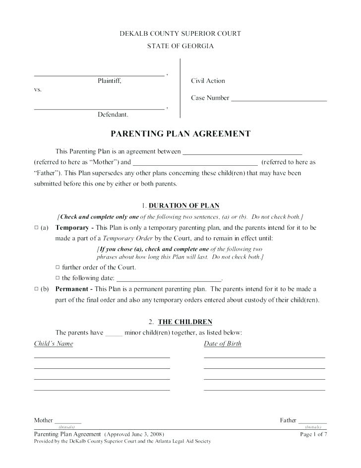 Child Custody Forms Colorado Free