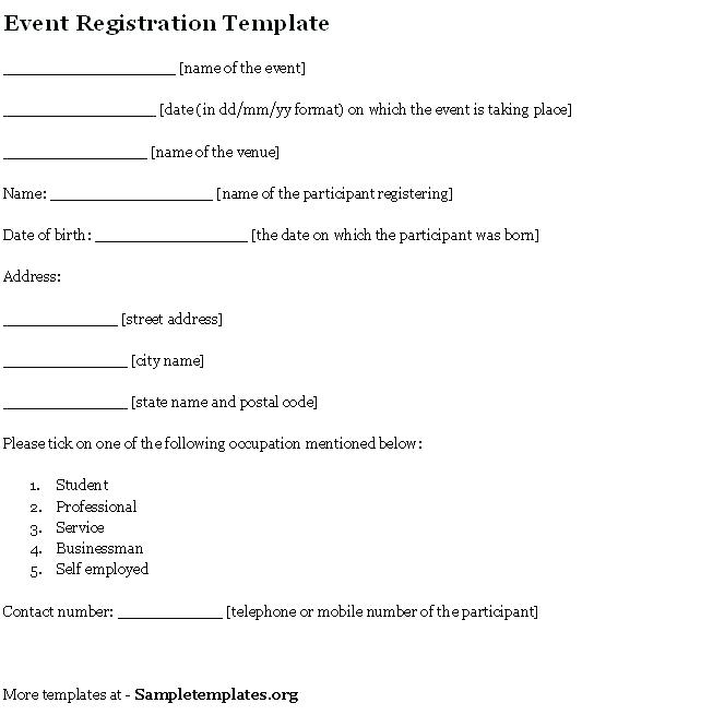 Childcare Enrollment Form