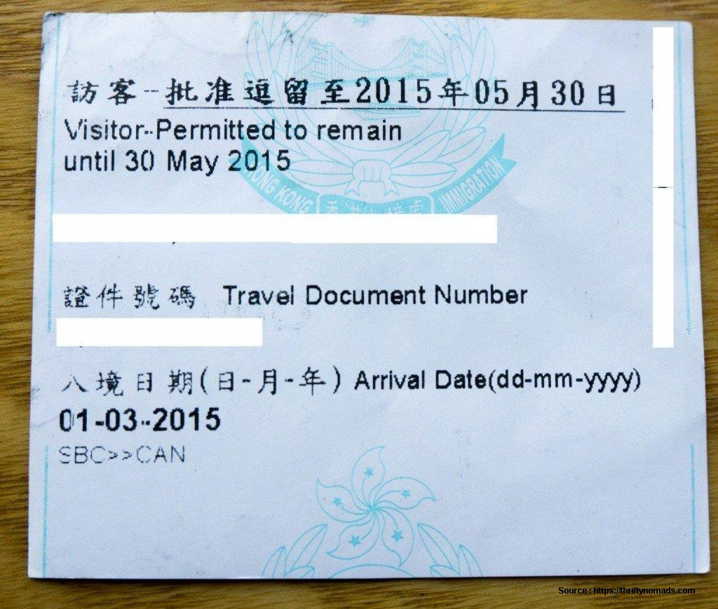 China Visa Application Form Hong Kong 2015