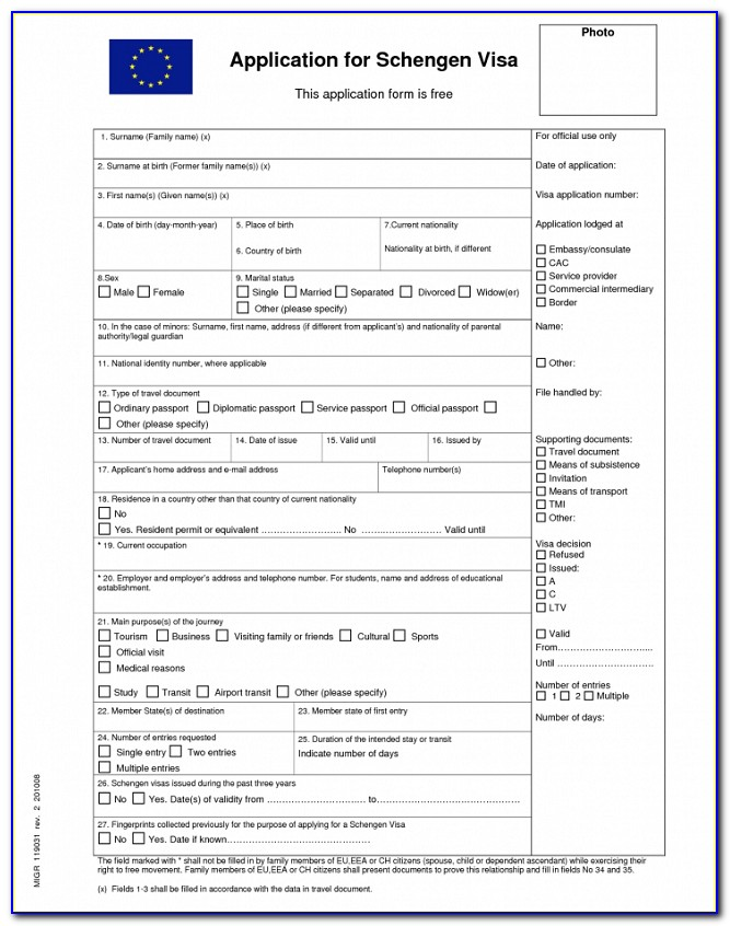 Chinese Visa Application Form Download Melbourne
