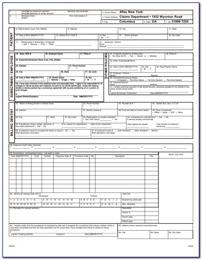 Cms 1500 Claim Forms Are Designed For