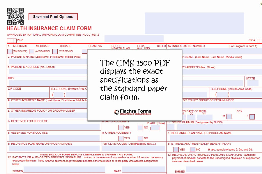 Blank Cms 1500 Form Best Of Fillable Cms 1500 Best Free Claim Form Bomp