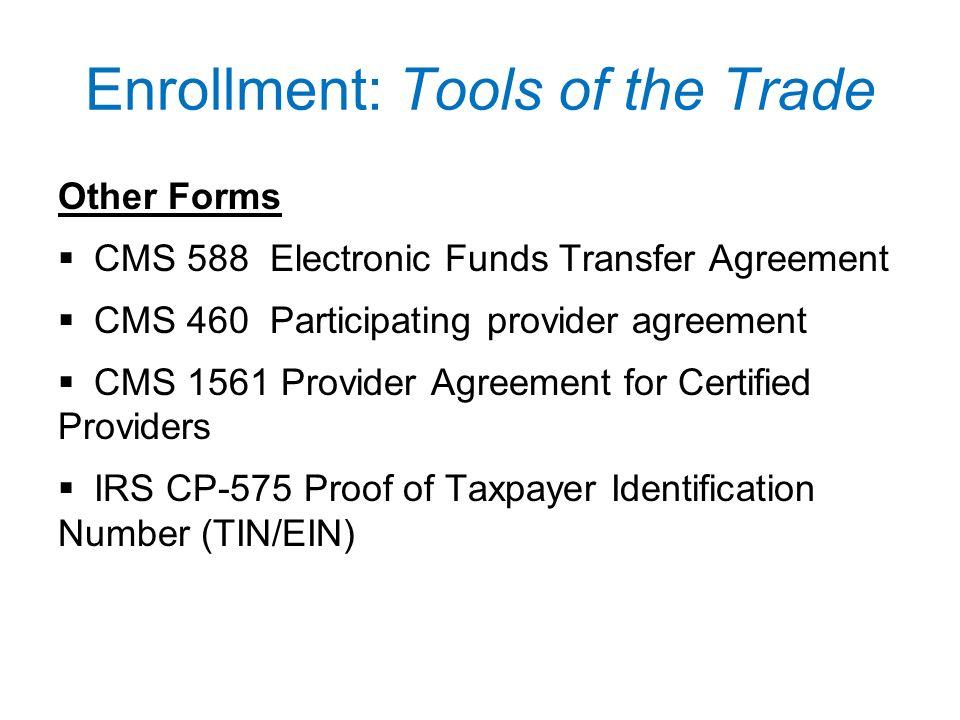 Cms Provider Enrollment Form 460