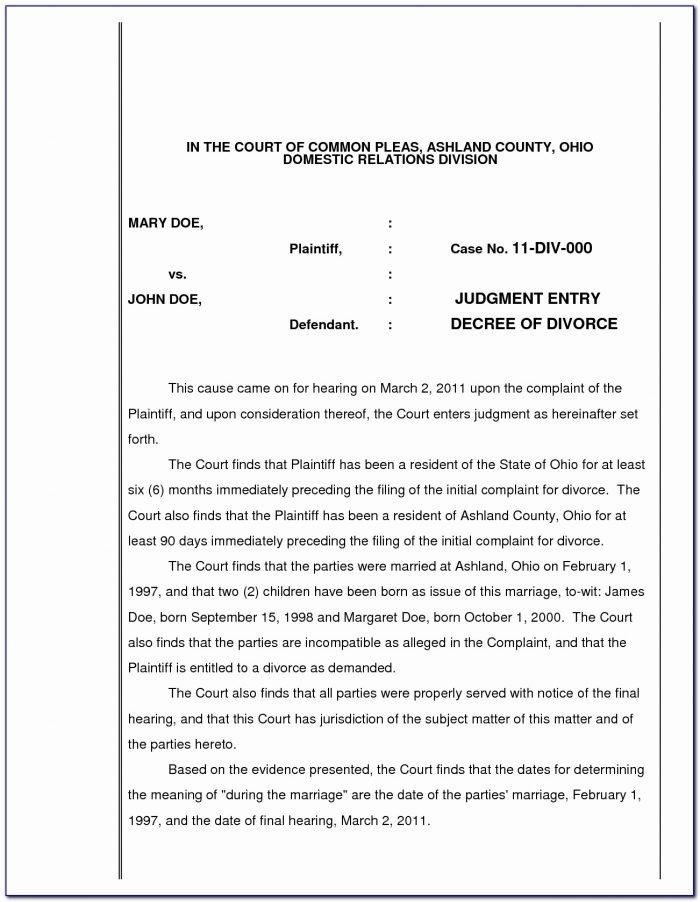 Cobb County Divorce Filing Fee