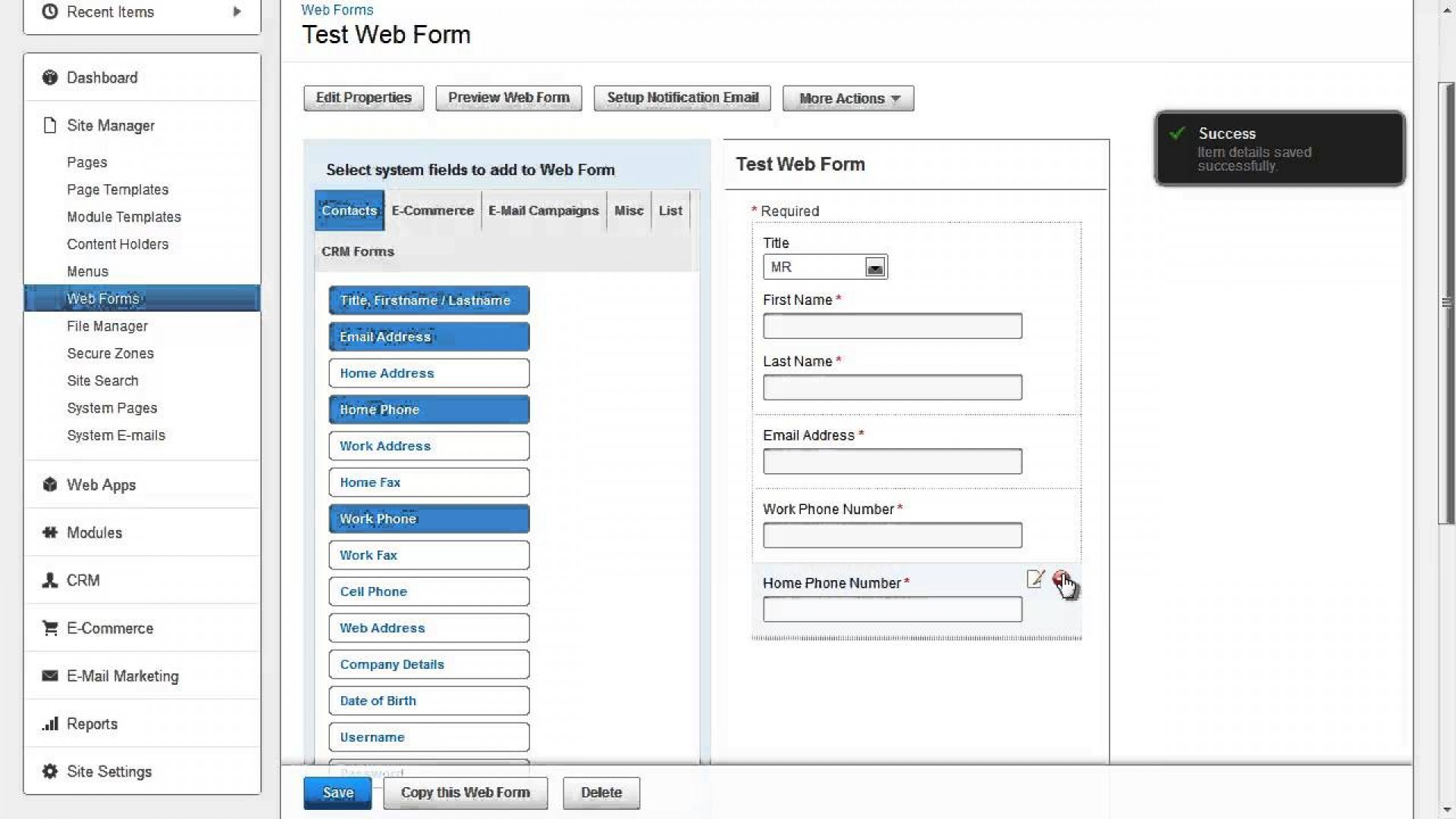 Coffeecup Web Form Builder 2.9 Crack