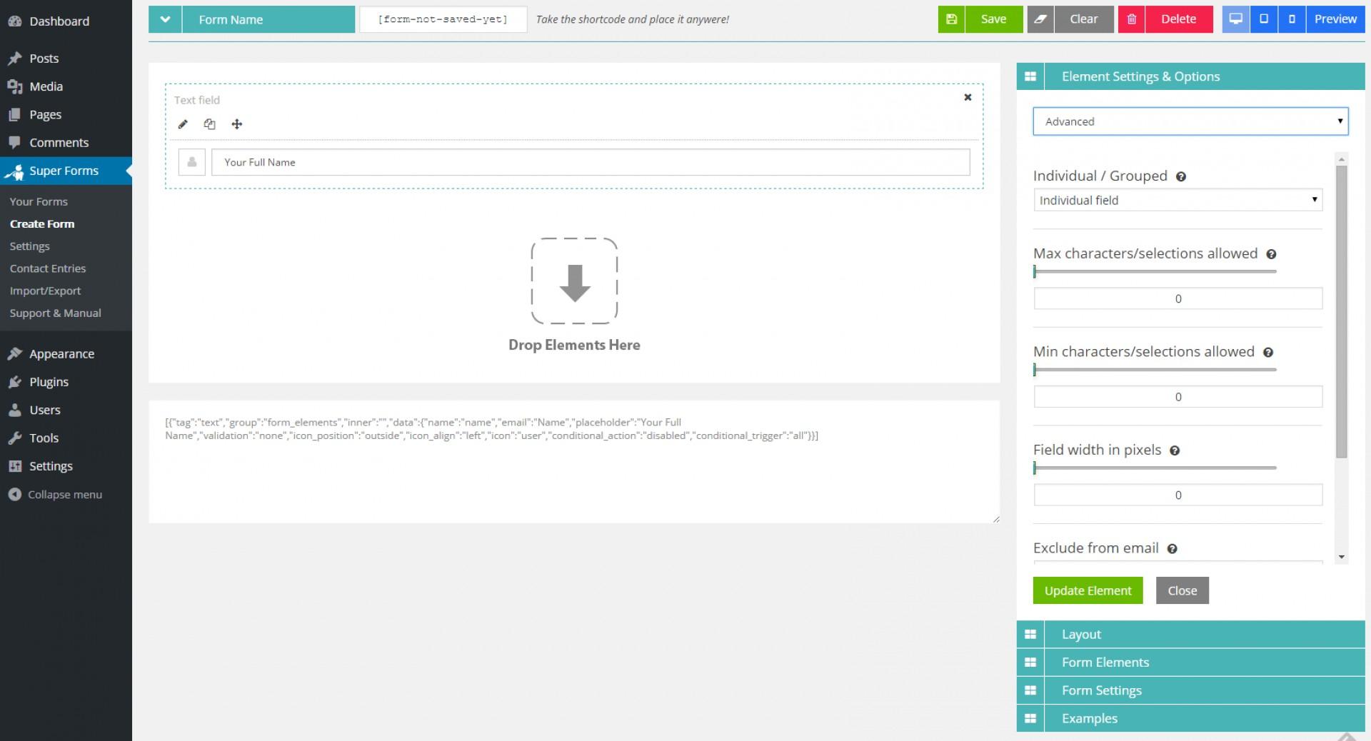 Coffeecup Web Form Builder Templates