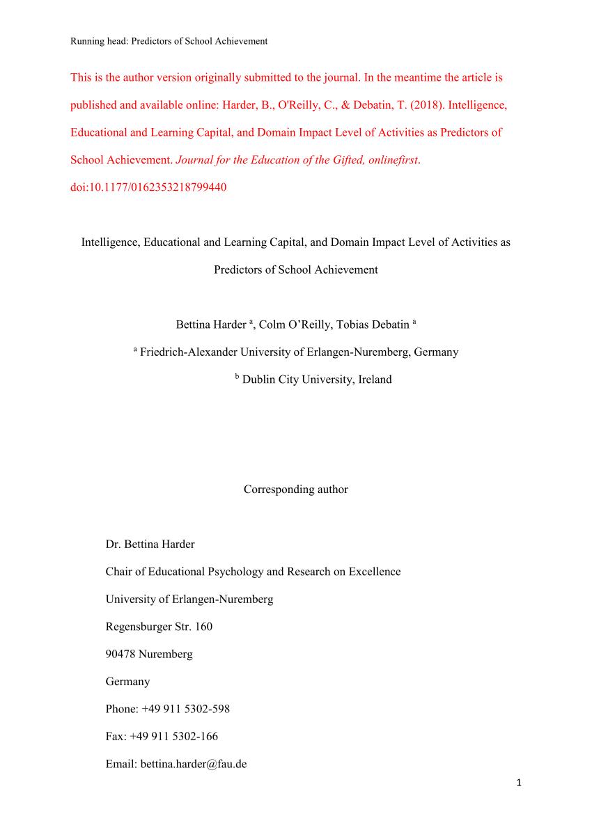 Cognitive Abilities Test (cogat) Form 6